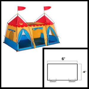 300x300 gigatent fantasy palace play tent children kids pretend roleplay