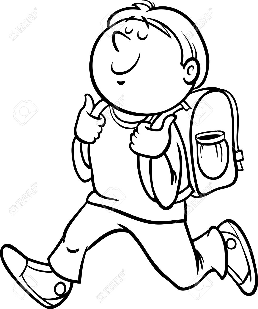 1085x1300 Boy Drawing Student For Free Download