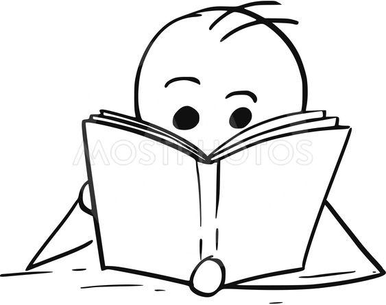 563x445 Man Or Boy Reading A Book