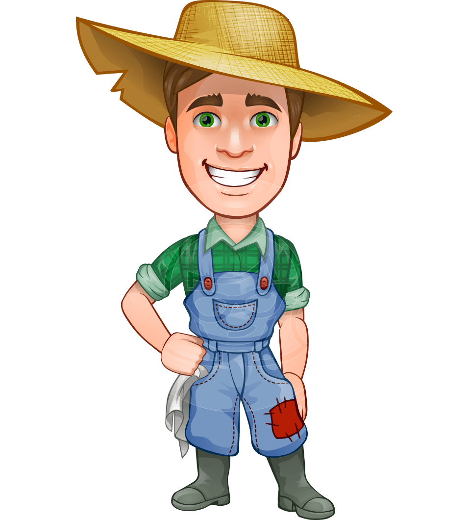 957x1060 Collection Of Free Farmer Drawing Animated Download On Ui Ex