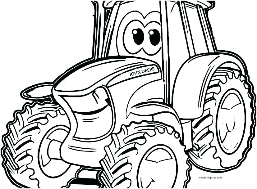 Farm Tractor Drawing | Free download on ClipArtMag