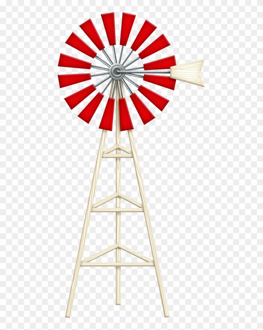 880x1104 Farm Clipart Windmill