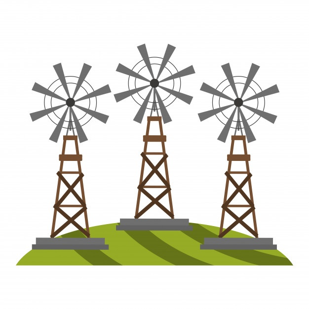 626x626 Windmill Vectors, Photos And Free Download