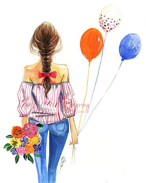 570x713 watercolor fashion illustration,fashion art, fashion painting