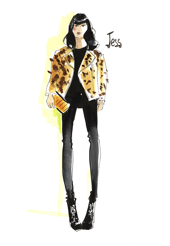 551x800 live sketching live fashion illustration angie