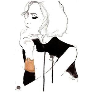 300x300 x hannah tate x fashion illustration design