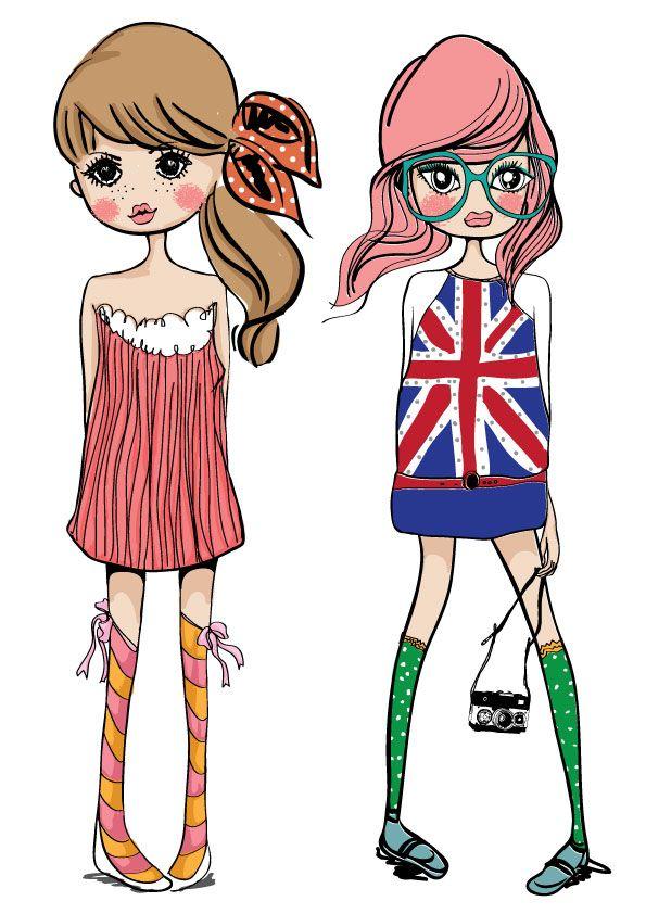 595x842 fashion fashion girls illustration girl, fashion illustration