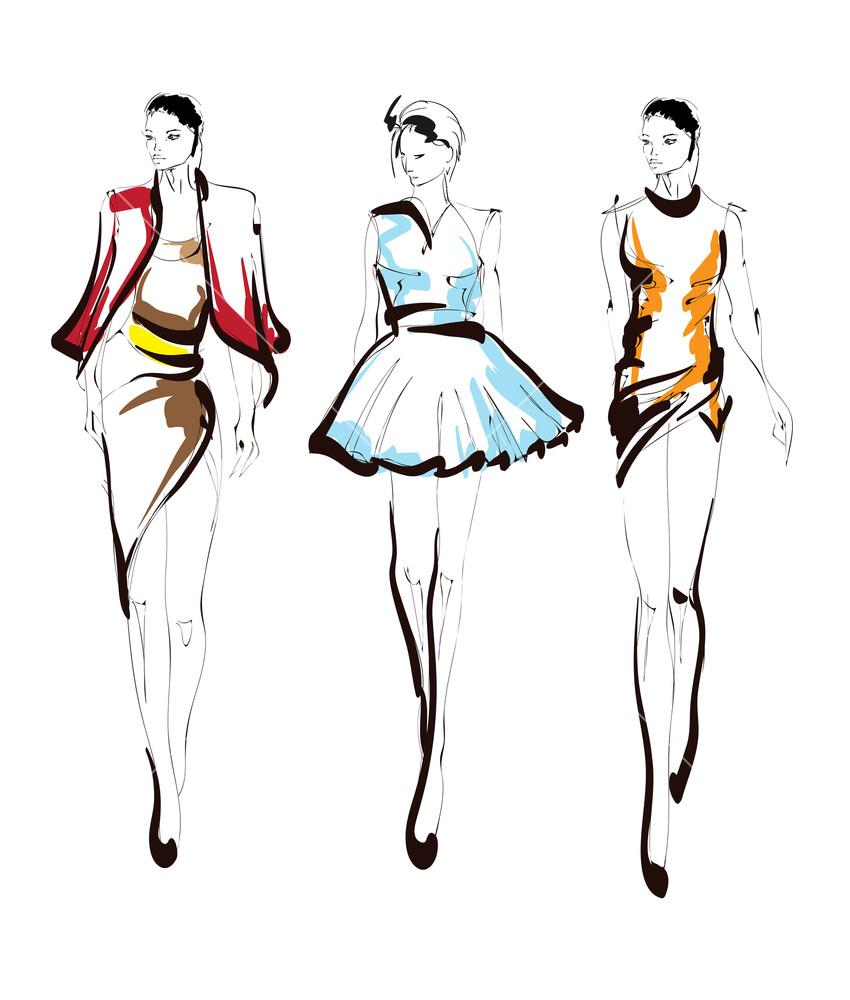 850x1000 fashion girls sketch fashion illustration drawing fashion models