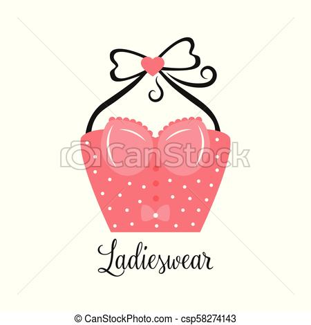 450x470 women fashion logo design template lingerie emblem women fashion