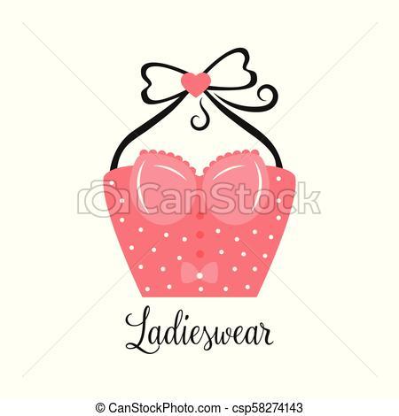 450x470 women fashion logo design template lingerie emblem women fashion