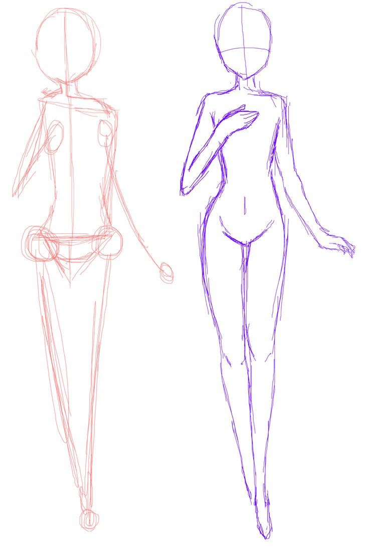 728x1096 anime bases anime base standing guideline drawing help anime