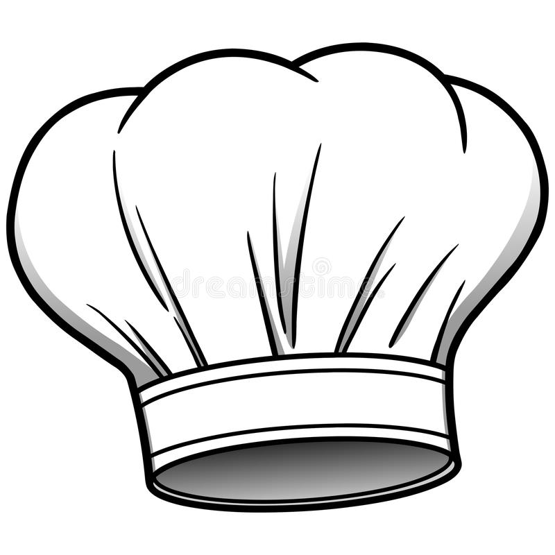 Fat Chef Drawing