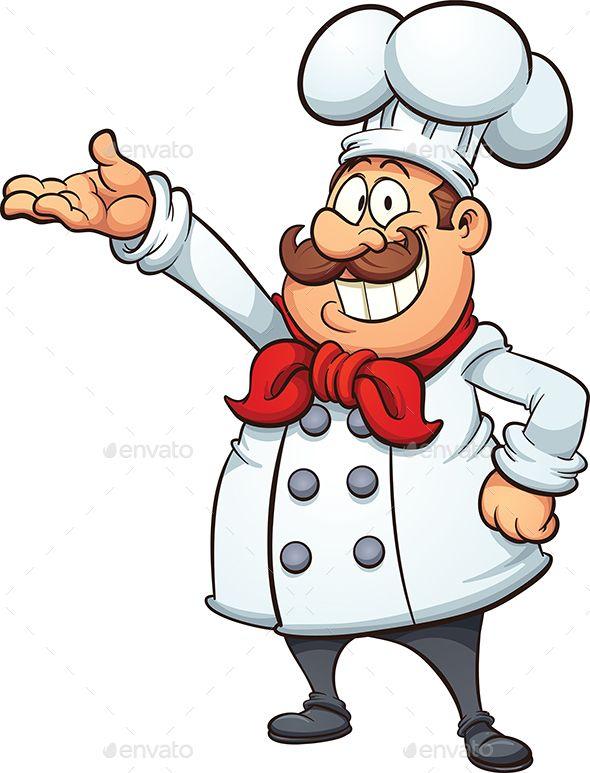 590x773 cartoon chef cartoon chef, fat cartoon, simple cartoon