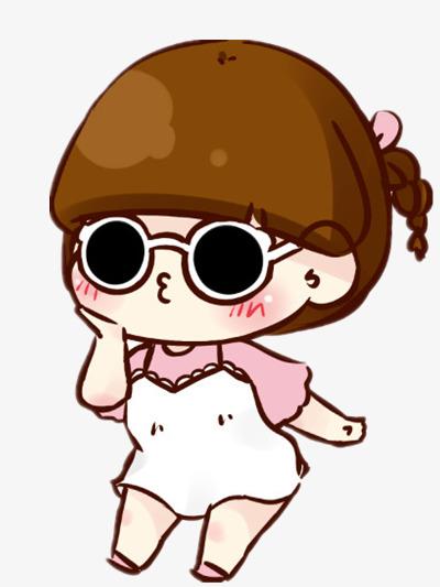 400x533 the fat girl wearing sunglasses, sunglasses clipart, adornment