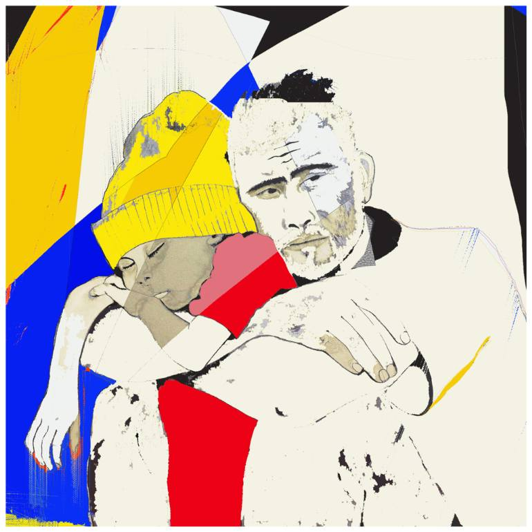770x770 father and son syrian refugee c limited edition