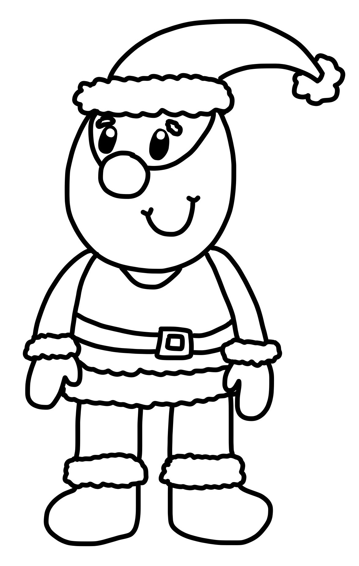 1174x1849 how to draw a cartoon father christmas and competition hannah