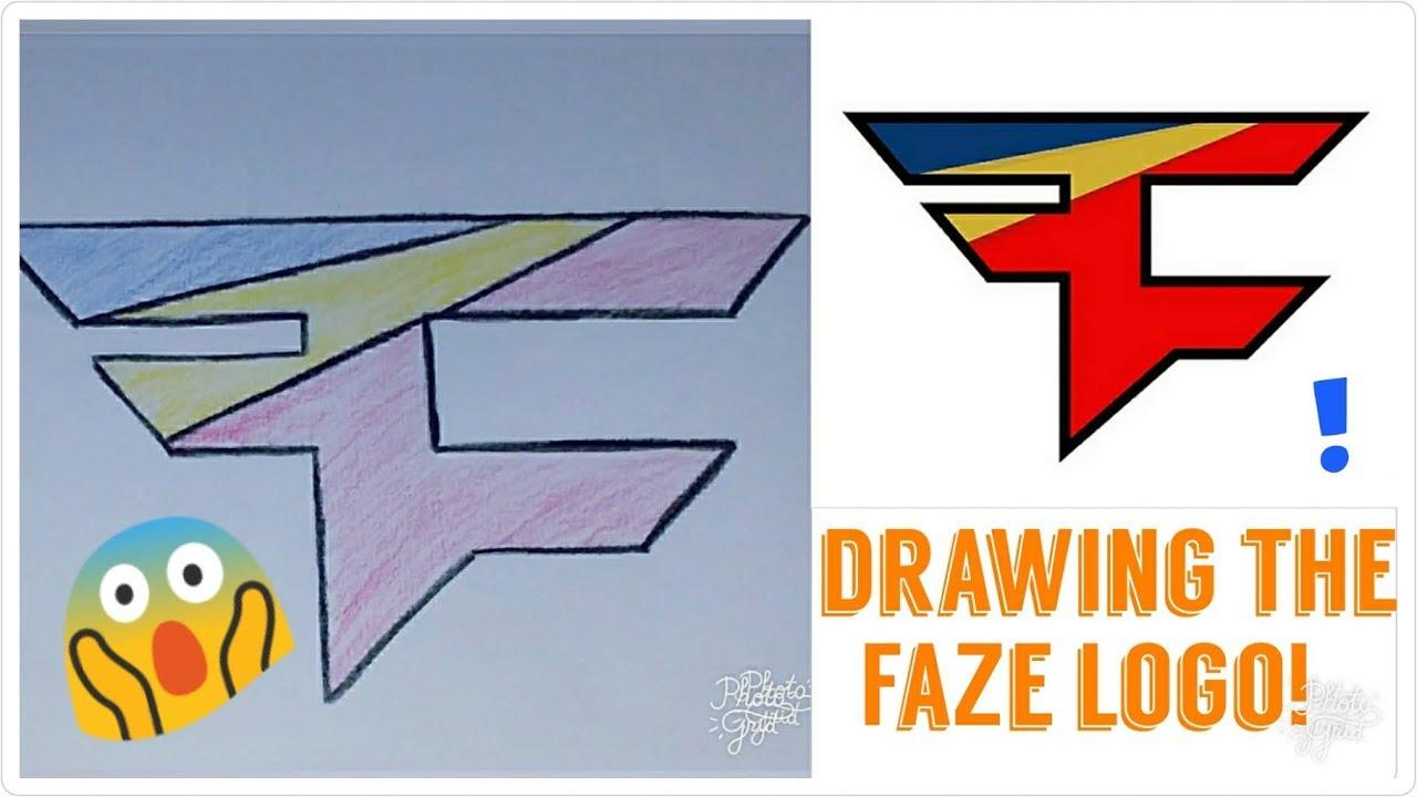 1280x720 Drawing The Faze Logo