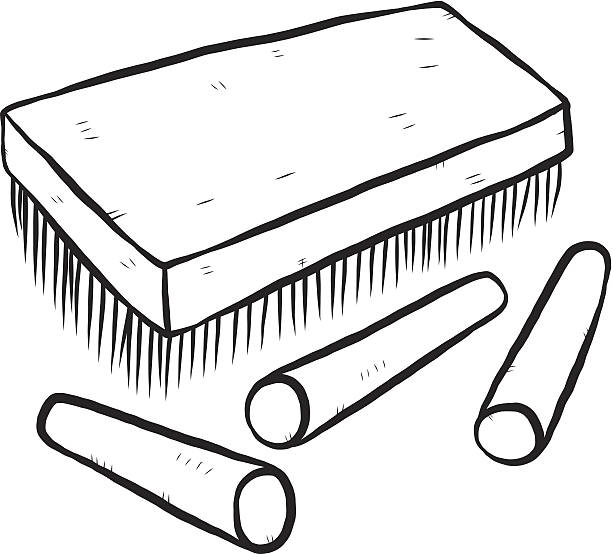 612x554 Chalk And Duster Clipart