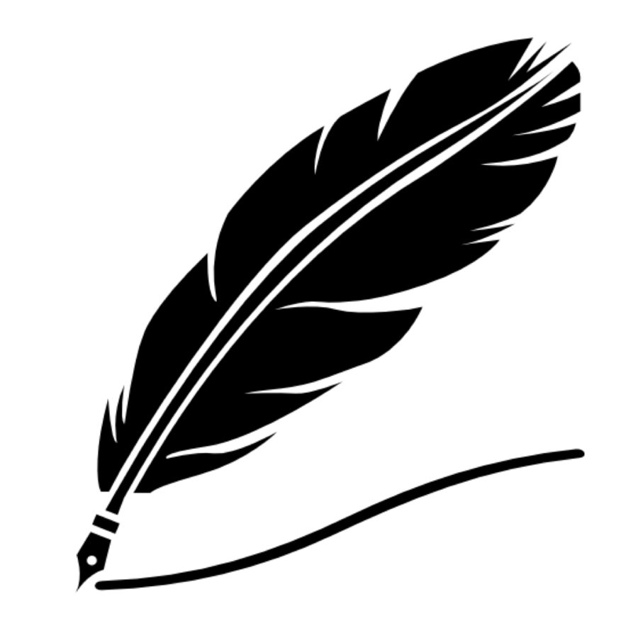 900x900 Feather, Ink, Drawing, Transparent Png Image Clipart Free Download