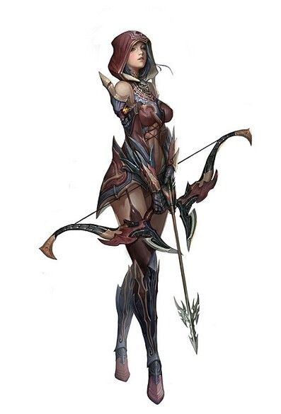 397x586 archer rpg, fantasy characters, fantasy