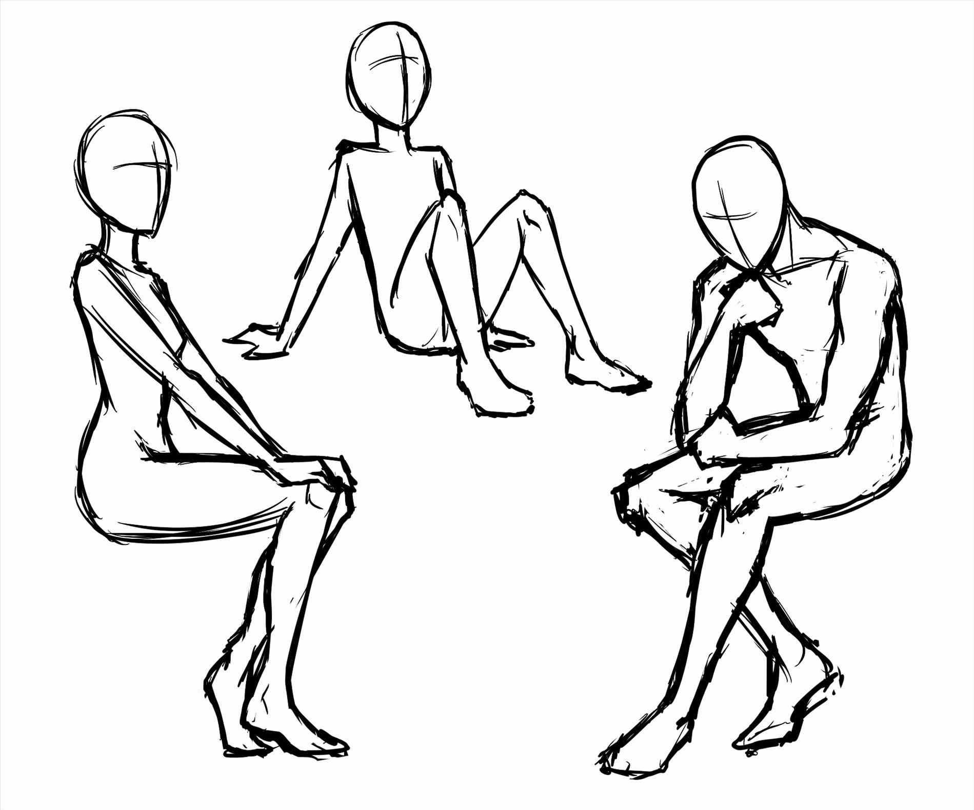 Female Body Drawing Base