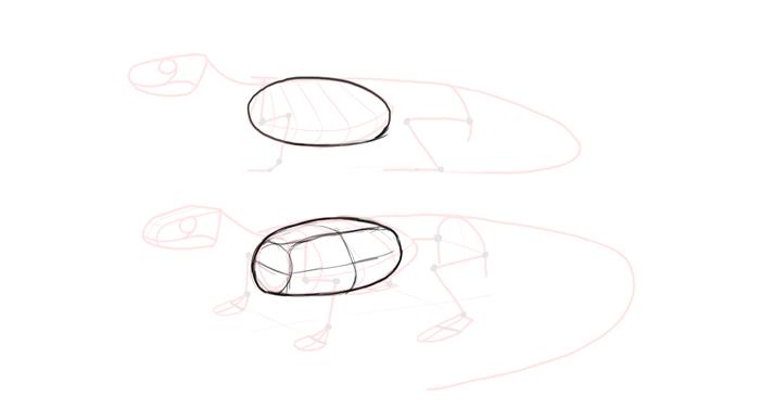 700x377 How To Draw Lizards