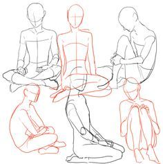 Female Body Structure Drawing