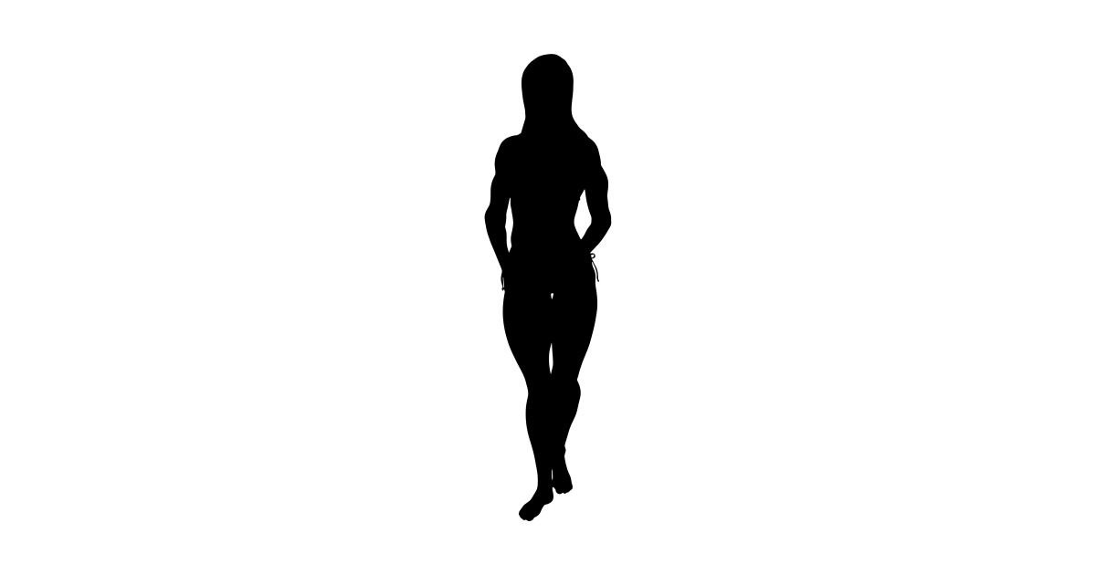 1200x630 limited edition exclusive female bodybuilder silhouette
