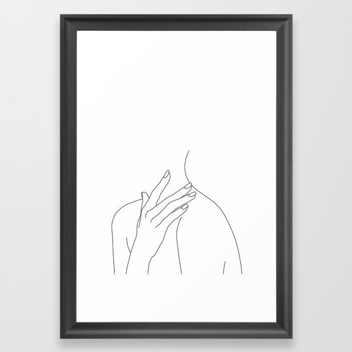 700x700 Female Body Line Drawing