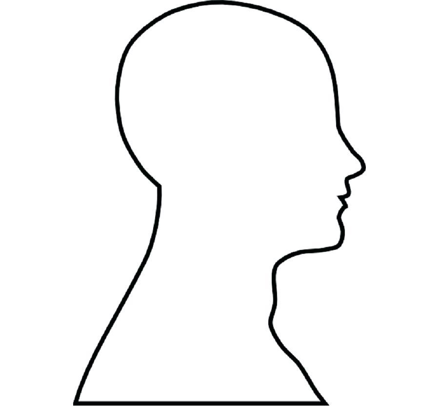 900x840 Human Outline Human Head Face Brain Clip Art Female Outline Free