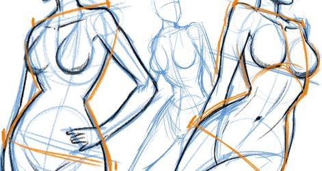 471x250 Body Drawings Art Female Abstract Medical Ideas Male
