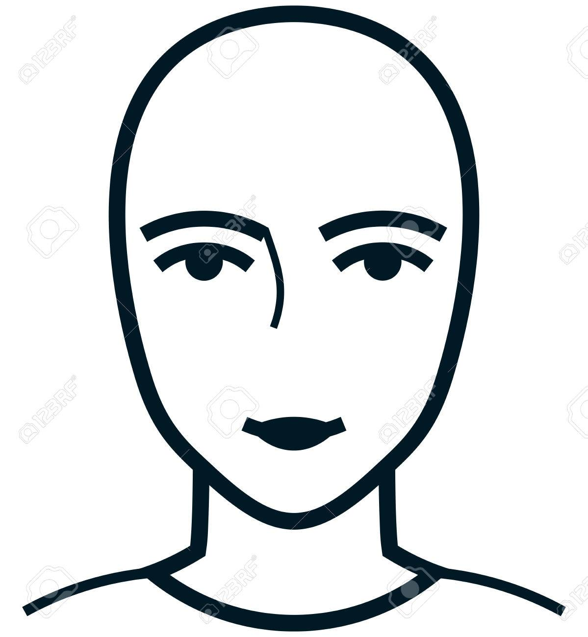1199x1300 Female Face Cliparts Free Download Clip Art