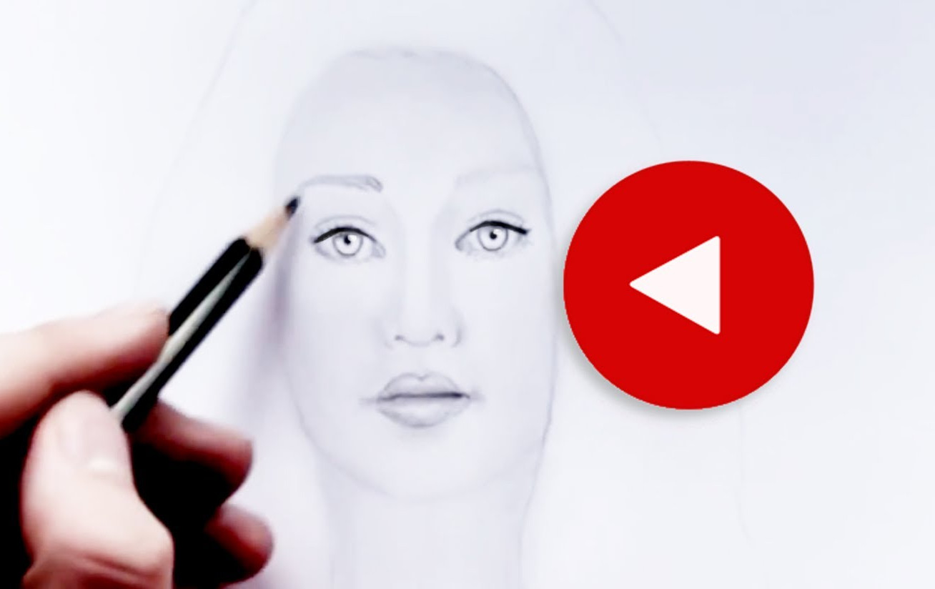 1308x824 How To Draw A Face Step