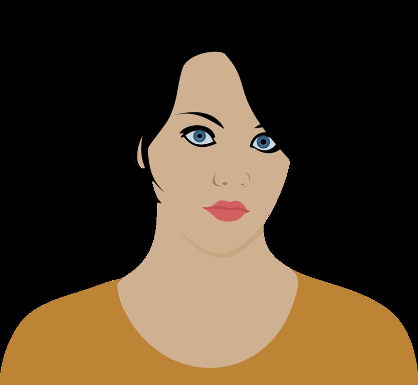 815x750 Woman Female Face Art Drawing Cc0