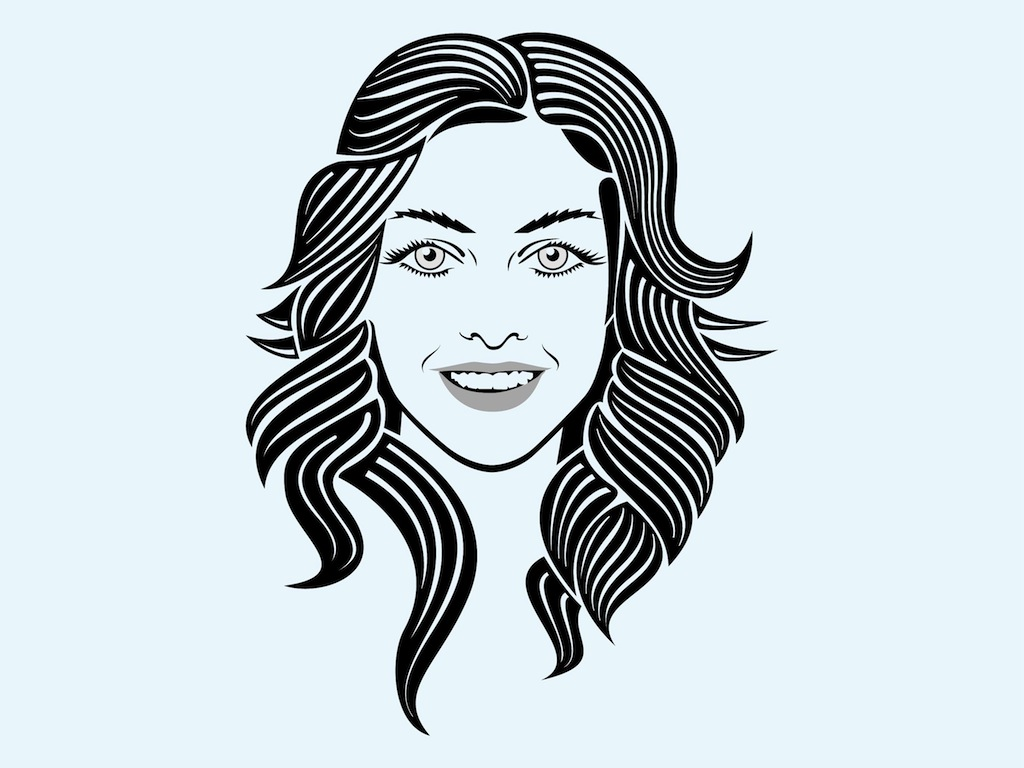 1024x768 Collection Of Free Facing Clipart Female Face Download On Ui Ex