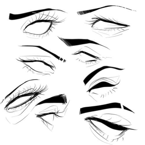 Drawing Anime Face Reference