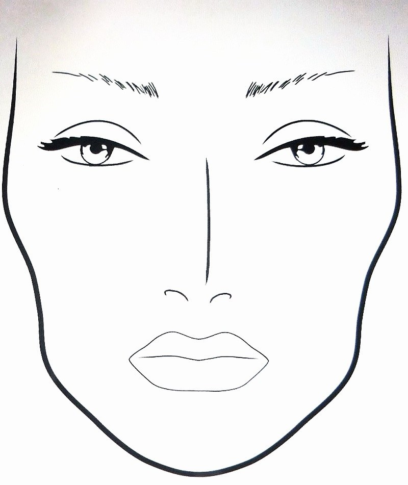 800x951 male face charts for makeup saubhaya makeup