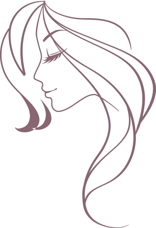 Female Face Profile Drawing
