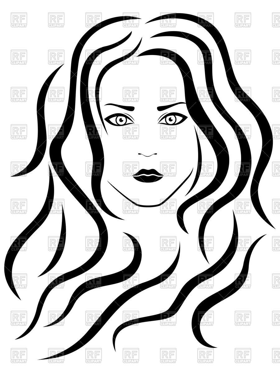 Female Hair Drawing Free Download Best Female Hair Drawing On