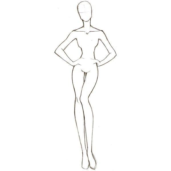 Female Human Body Drawing