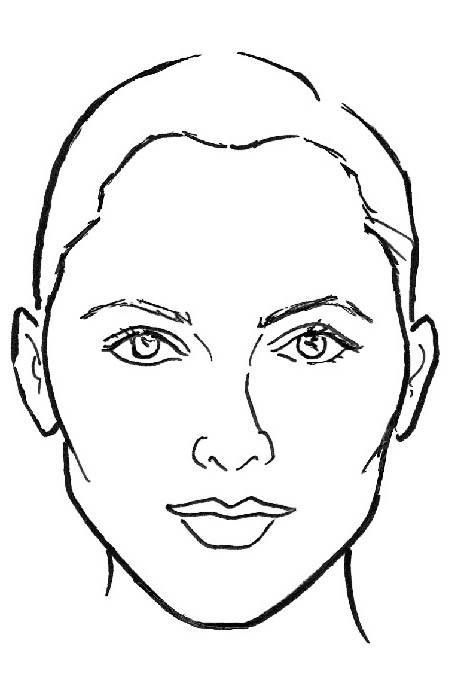 Female Nose Drawing