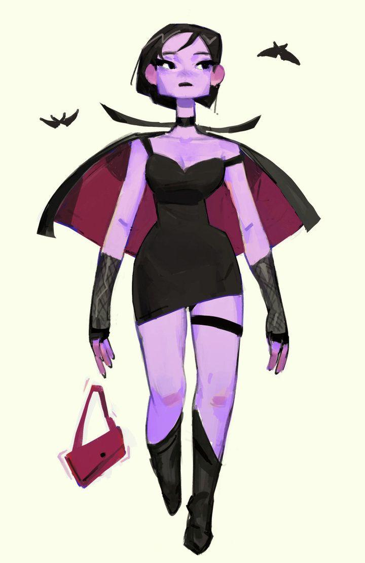 720x1110 Teenage Vampire Girl