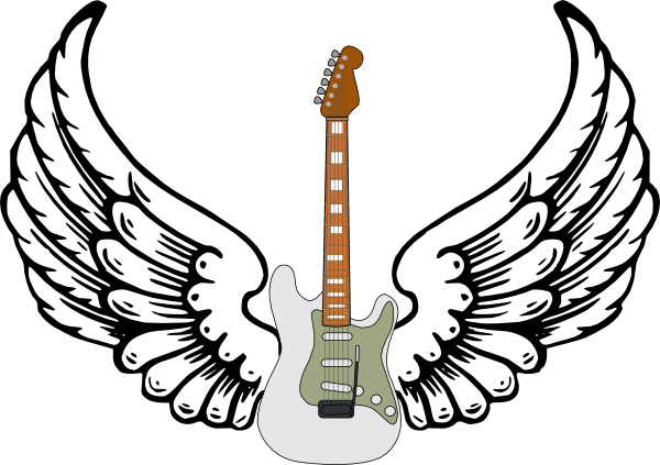 600x423 stratocaster guitar clipart guitar with wings clip art tattoo