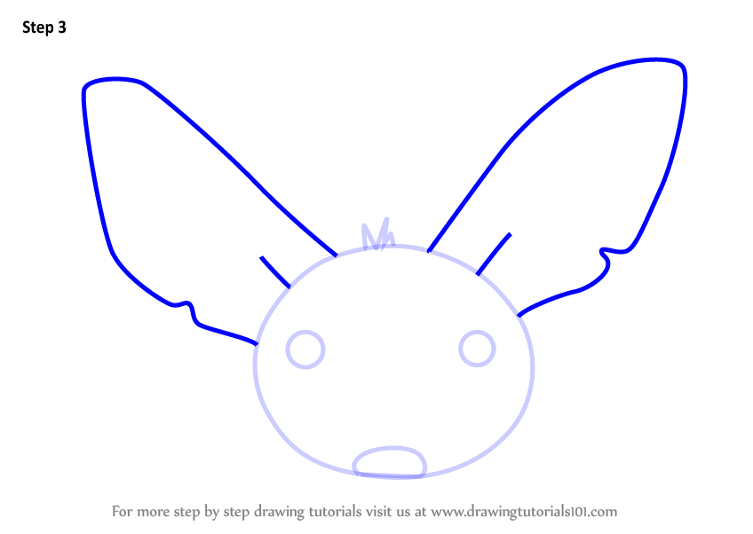 848x602 Learn How To Draw A Fennec Fox Face For Kids
