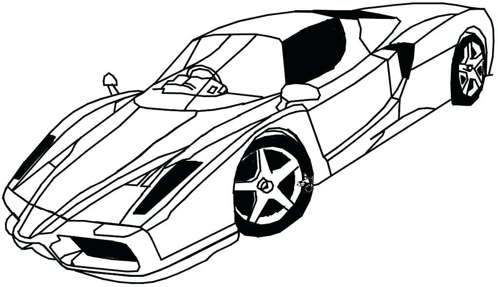 1024x591 Ferrari Coloring Pages