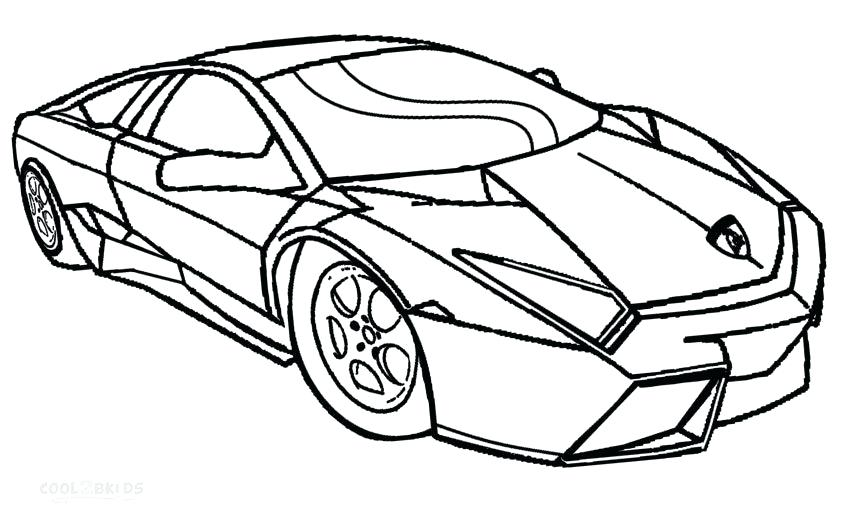 850x517 Car Coloring Pages Ferrari Car Coloring