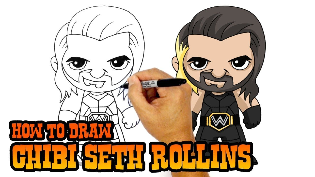 1280x720 How To Draw Seth Rollins