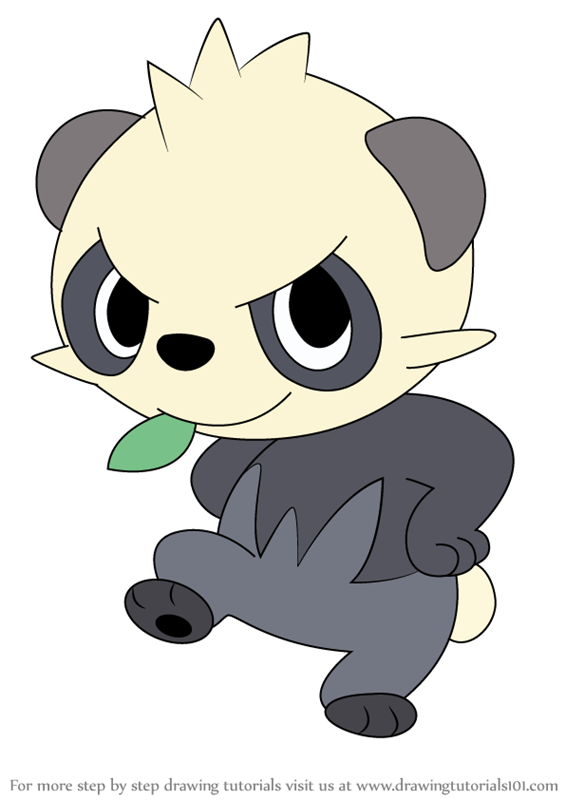 565x800 Learn How To Draw Pancham From Pokemon
