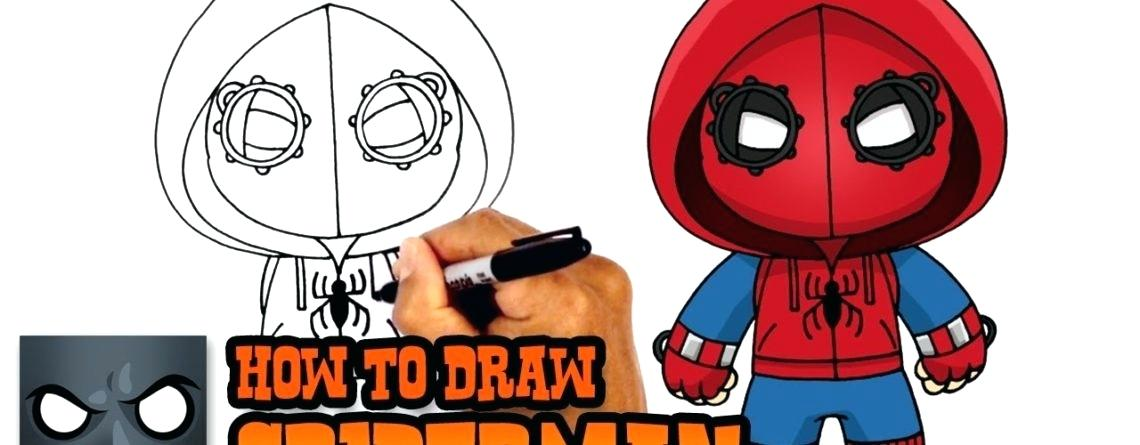 1140x445 Spiderman Drawing Easy Spiderman Easy Drawing Images
