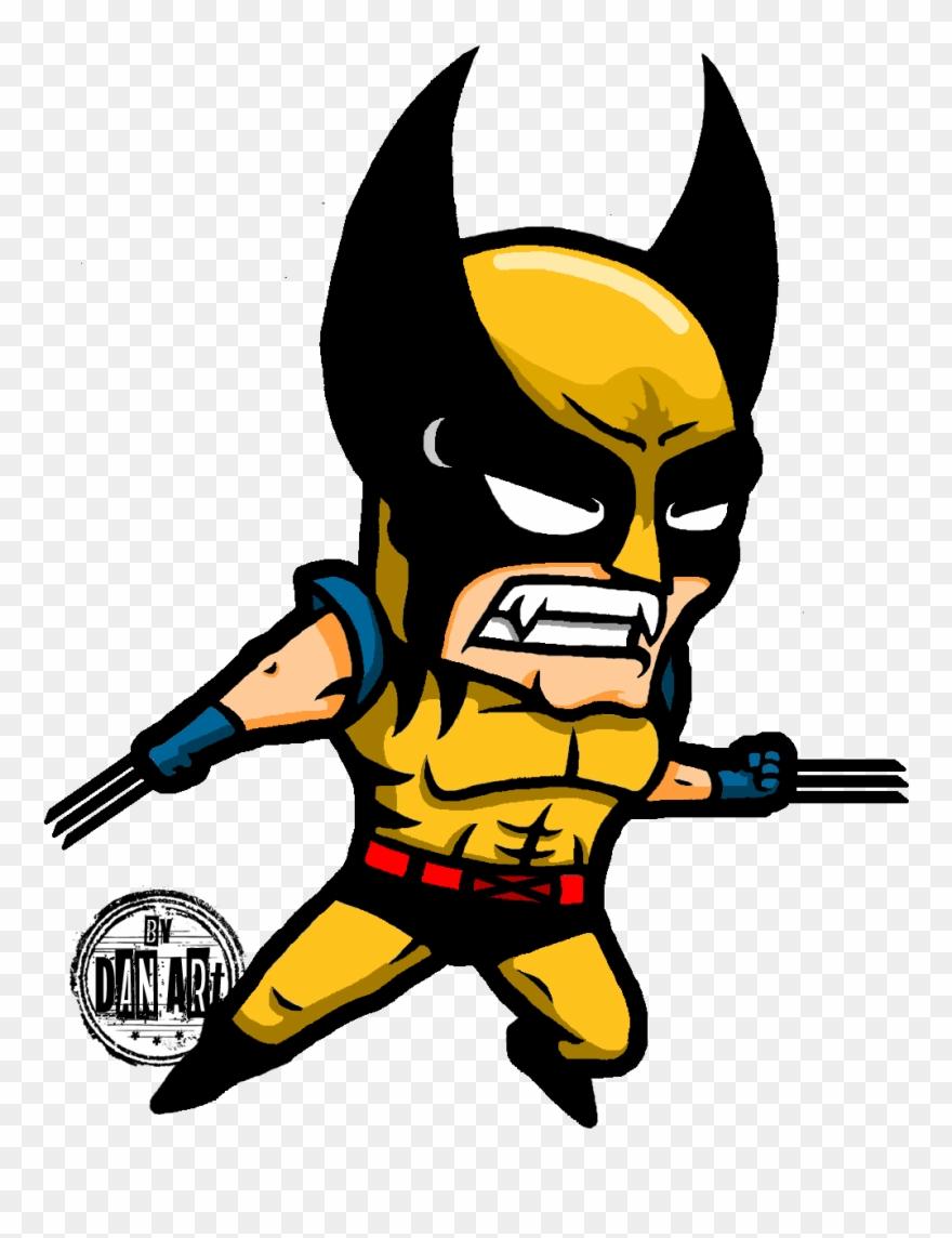880x1144 Clip Art Superhero Caricature